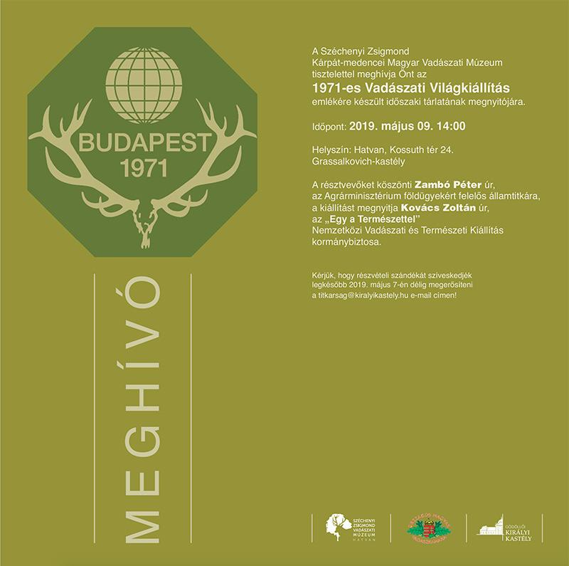 ac866ccbb58e Kiállításmeghívó a Magyar Vadászati Múzeumba | Vadász Blog